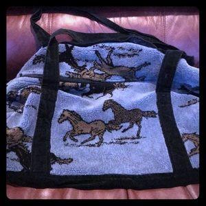 Handbags - Mini Horse Duffel
